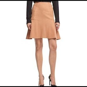 "Robert Rodriguez ""JANE""  A-Line Nude Skirt NWT"